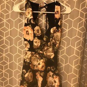 Small/medium floral cocktail dress